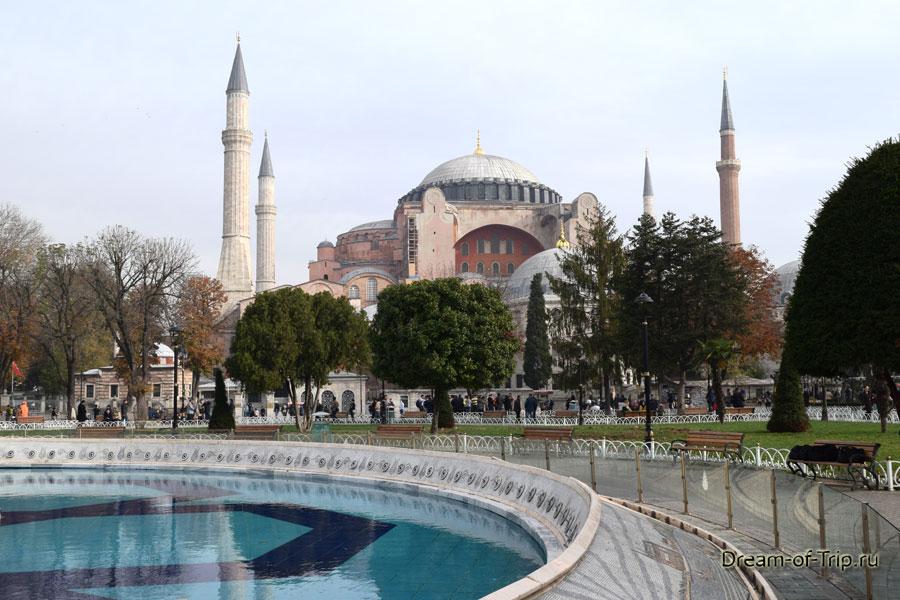 Айя-София в Стамбуле