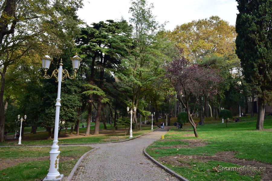 Парк Гюльхане.