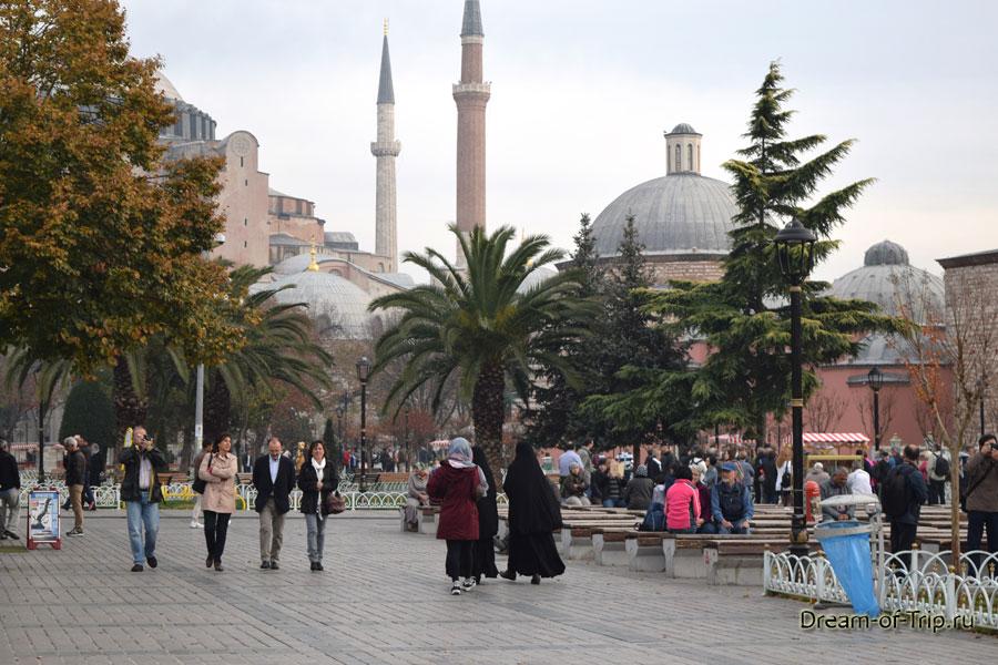 Площадь Султанахмет.