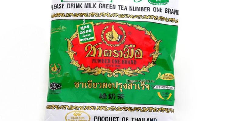 Изумрудный чай из Тайланда.