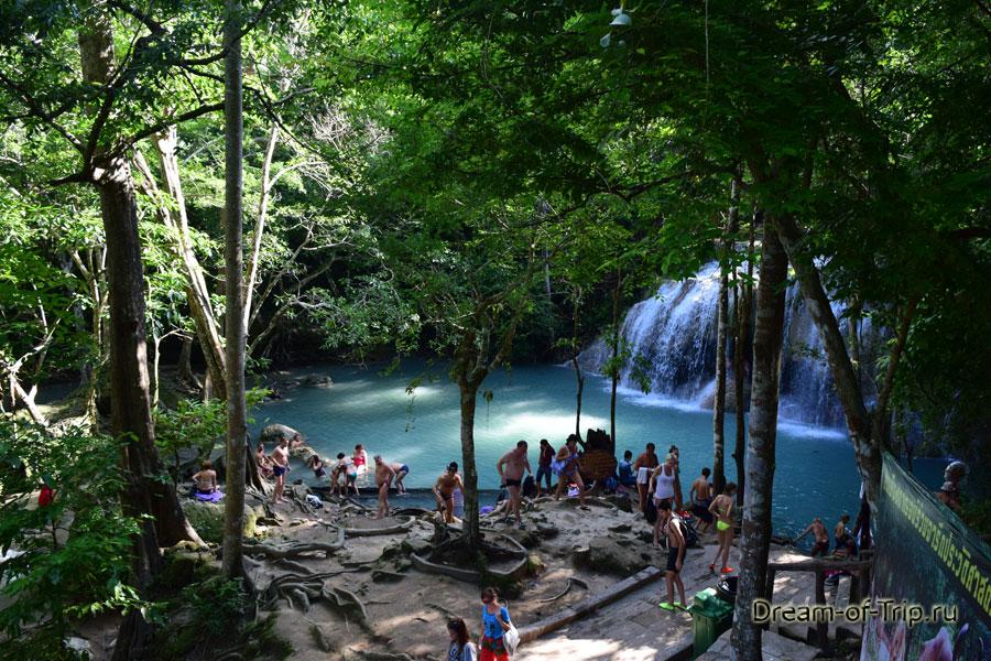 Четвертый уровень водопада
