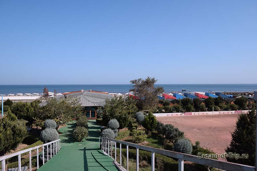 Море в Азербайджане. Отель рядом с Баку.