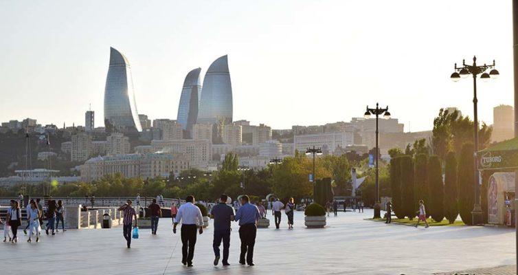 Набережная в Баку