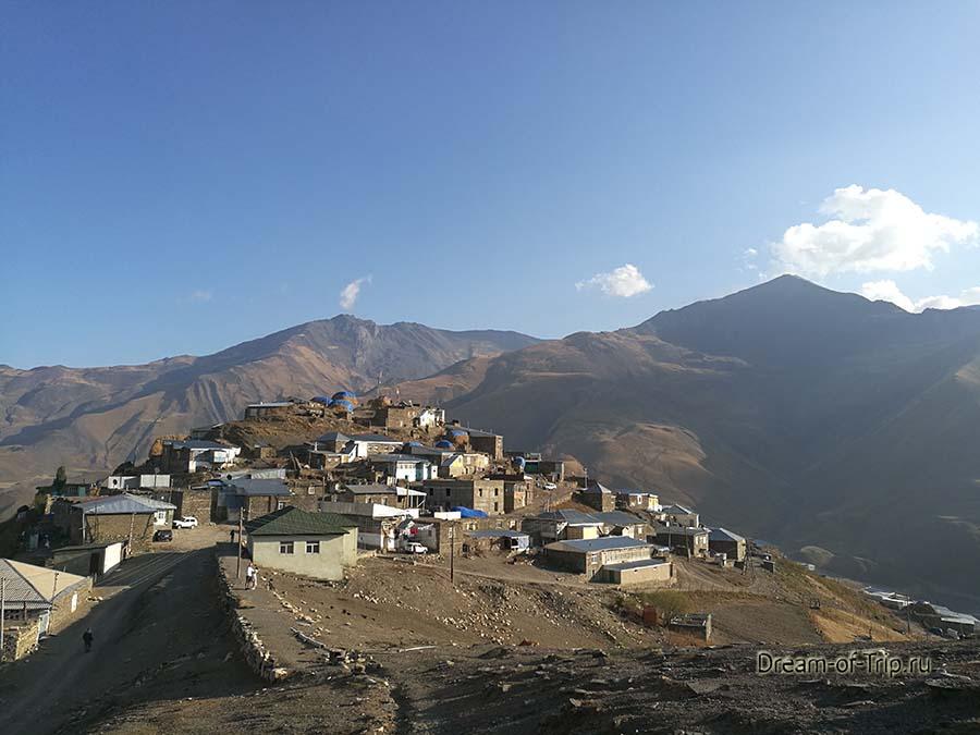 Экскурсии в Азербайджане. Хыналыг.