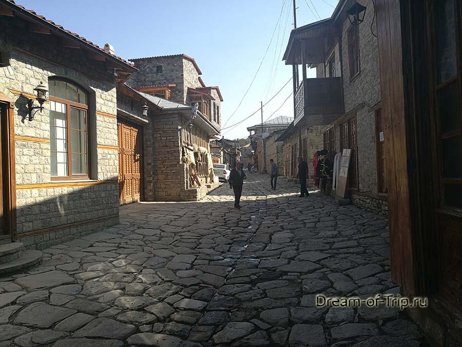 Поселок Лагич. Улица.