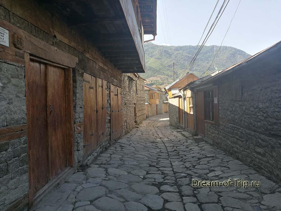 Поселок Лагич.  Еще один переулок.