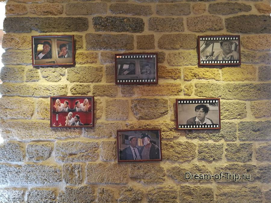интерьер кафе Черт побери в Баку